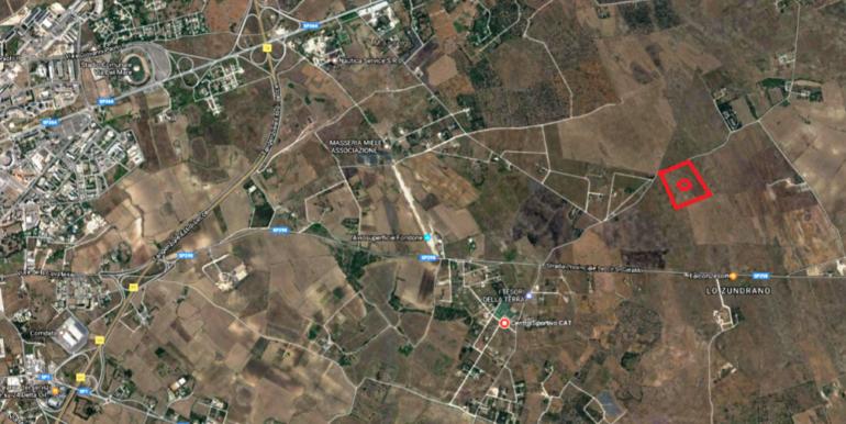 mappa F35 Lecce
