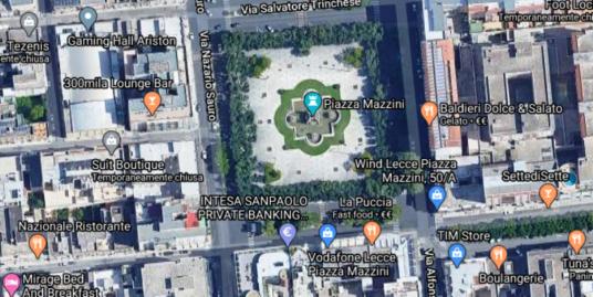 Locali commerciali Piazza Mazzini